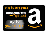 NEW GUIDE GET UP TO 40-50% OFF DISCOUNT ON AMAZON GIFT CARDS P.D.F GUIDE |SAVE!)
