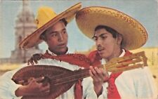 TIPO de CANTADOR del DTO FEDERAL~TIPICAL SINGERS FROM FEDERAL DISTRICT POSTCARD