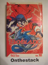 MANGA:     Beyblade Vol. 10 by Takao Aoki (2006, Paperback) In new condition!