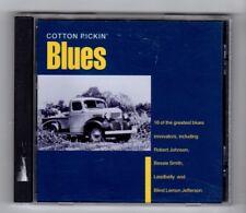 (IA426) Cotton Pickin' Blues, 16 tracks various artists - 1996 CD