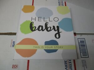 BOBEE MEMORY BABY BOOK 52 PAGES BIRTH TO FIVE YEARS NEW OPEN PACKAGE FAST SHIP
