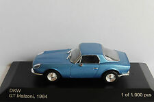 Dkw GT Malzoni 1964 Metallic Blue 1 43 Model Wb095 Whitebox