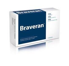 BRAVERAN-8 tabs-libido, Impotence aid, erection problems-penigra, permen king