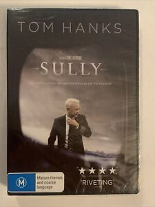 SULLY – Tom Hanks (DVD 2016 By Clint Eastwood) SEALED/BRAND NEW