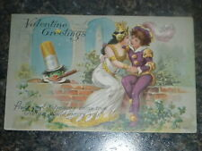 1909 Little Nemo VALENTINES Postcard Princess With lover #6