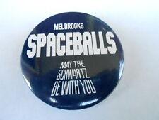 VINTAGE PINBACK BUTTON #77- 050 - MEL BROOKS SPACEBALLS