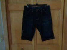 Carhartt original fit blue denim shorts women's 8