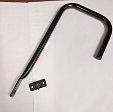 "Black Wall Mount Utility Bike Hook Metal OBECO 9"" x 6"" x 4"""