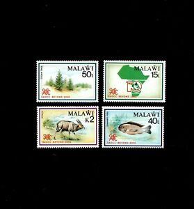 VINTAGE CLASSICS - Malawi - Africa, Animals, SADCC - Set of 4 Stamps - MNH