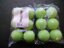 Champro Sports 2 Pack Official Green Rubber Lacrosse Balls (Lbnlg)