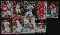 2018 Topps Update Cincinnati Reds Master Team Set 9 Baseball Cards Missing 1