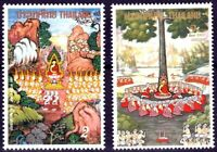 Thailand 1993/94, The Maghapuja day / The Asalhapuja day, Stamps MNH
