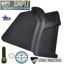 Strike Industries Simple Featureless Grip + Grip Screw/Washer  CA/NY Compliant