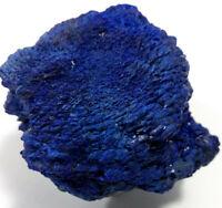 """Azurite """"Velvet"""" Crystal Cluster Mineral Display Specimen."""