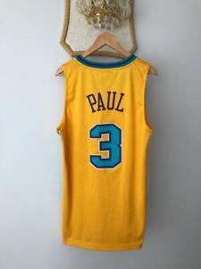 NEW ORLEANS HORNETS NBA BASKETBALL VINTAGE JERSEY REEBOK AUTHENTIC CHRIS PAUL #3