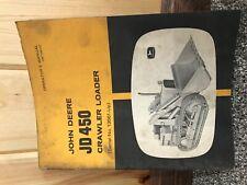 Operators Manual For John Deere 450 Crawler Loader