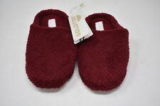 GOLD TOE Women's Memory Foam Insole Slide Slippers Dark Red Size (M) 8 NWT
