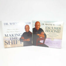 Dr. Wayne Dyer EXCUSES BEGONE & MAKING THE SHIFT CD Sets Self Help Life Purpose