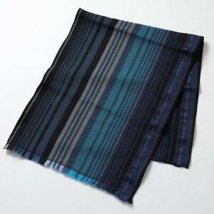 Missoni Scarf Blue Wool Blend RRP £195 TD102 GG 08