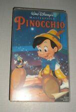 Pinocchio (VHS Tape) Walt Disney's Masterpiece