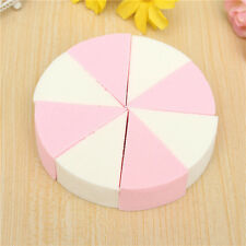 8 Pcs Facial Cleaning Make Up Soft Sponge Face Foundation Powder Puff