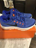 New Mens Nike Air Zoom Vomero 12 Running Shoes Blue/Orange