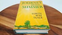 Journey Into Summer Edwin Way Teale 1960 Writing First Edition 3rd Printing