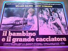 Fotobusta IL BAMBINO E IL GRANDE CACCIATORE 1980 William Holden (1)
