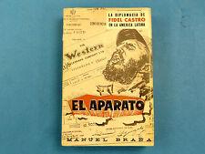 AUTHOR SIGNED * EL APARATO: la diplomacia de Fidel Castro ... MANUEL BRANA