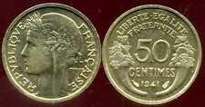 50 centimes 1941  morlon  SUP