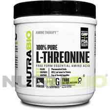 NutraBio L-Threonine Powder - 150 Grams