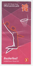 Orig.Guide / PRG   Olympische Spiele LONDON 2012 - BASKETBALL  !!  SELTEN