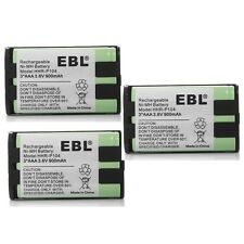 3x 900mAh Ni MH Home Phone Battery For Panasonic HHR-P104 HHR-P104A/1B Type 29