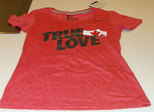 Team Canada 2014 Sochi Olympics L Red Scoring Triblend Ladies Women T Shirt