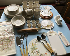 More details for vintage st michael's harvest kitchen/dining ware,clock, thermometer, tea towels