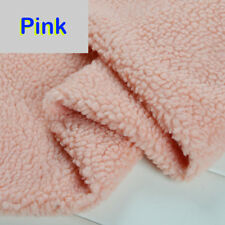 50cm Sherpa Fleece Pelt Lining Fabric Lambskin Thermal Lined Material 1.6m Width