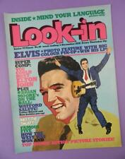Look-in TV Magazine December 2nd 1978 - Elvis Presley Cover & Pin Up Poster