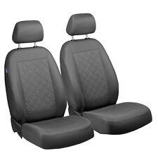 Fundas para asientos negro delantero kos mercedes a