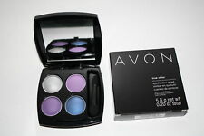Avon True Color, Eye-Shadow, Vivid Violet Quad, Q919, NEW IN BOX