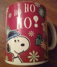 COLLECTABLE Snoopy Christmas Coffee Mug Peanuts 60 Years HO HO HO Charlie Brown