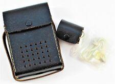 Vintage Universal 6 Transistor Radio Case Earphones with Earphone Case & Box