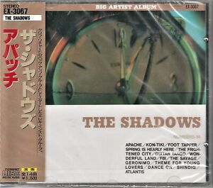 "THE SHADOWS  "" APACHE ~ BIG ARTIST ALBUM SERIES ""   JAPAN CD  WITH OBI"