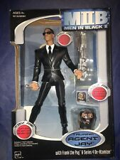 Men In Black Ii Talking Agent Jay Figure Will Smith Doll Frank Pug Toy Atomizer