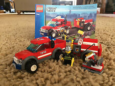 Lego City 7942 Fire Off-Road Fire Rescue 2007 131 pcs Minifigure Manual 100% Set