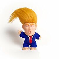 """Collectible President Donald Trump Troll Doll - Hair to the Chief, 5"""" Tall"""