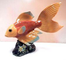 Underwater Calm (Orange) Fish Figurine 2015 By Lladro Porcelain #9142