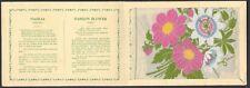 More details for wix (j) - kensitas flowers (extra large, plain) - dahlia, passion flower