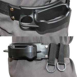 S/M/L Fighting Belt Rod Holder Adjustable Fishing Belt Waist Rod Holder Tackles