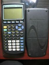 Texas Instruments TI-83 Plus Graphing Calculator w/Cover Tested Works