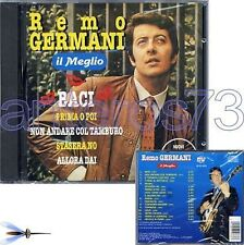 """REMO GERMANI """"IL MEGLIO"""" RARO CD 1996 - SIGILLATO"""